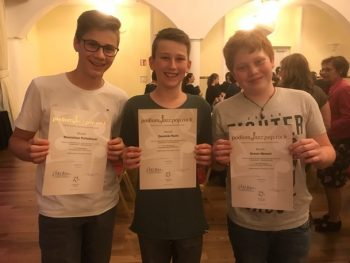 Masido: Maximilian Pichelbauer, Dominik Püchl und Simon Mersch